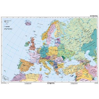 Europa Mapa Fizyczna Polityczna 160 X120 Cm Se4 299 00 Pln